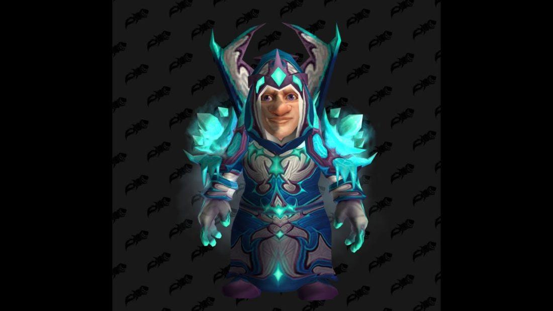 Frostfire Regalia - Mage T3 / Tier 3 - World of Warcraft